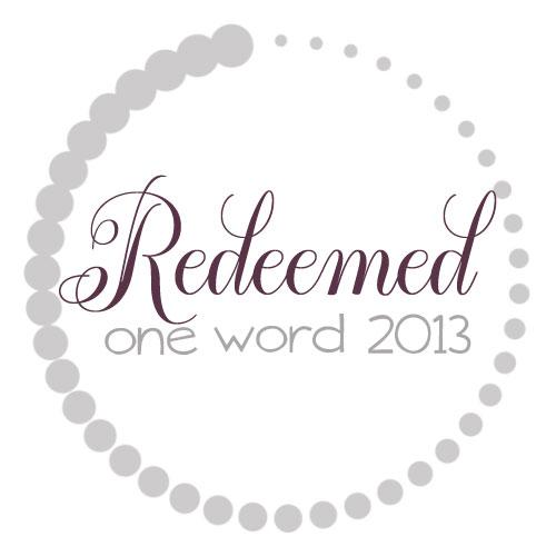 OneWord2013_RedeemedLargeSize